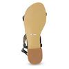 Czarne sandały zperełkami bata, czarny, 569-6606 - 18
