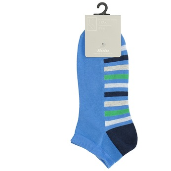 Niebieskie stopki wpaski bata, niebieski, 919-9803 - 13