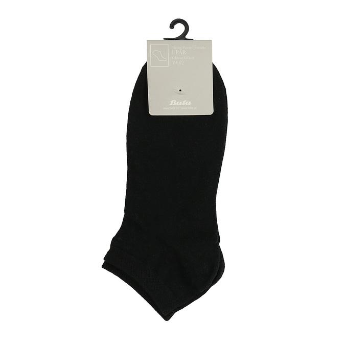 Czarne stopki męskie bata, czarny, 919-6802 - 13