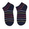 Czarne stopki damskie wprążki bata, niebieski, 919-9815 - 26