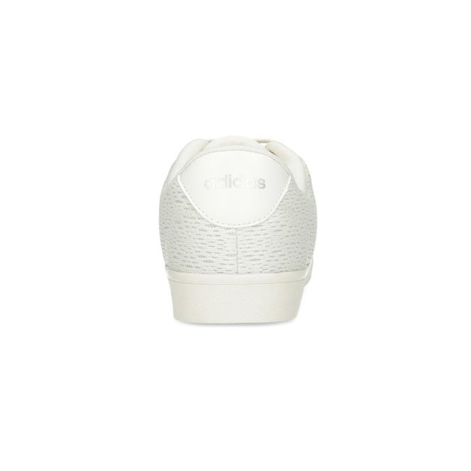 Trampki damskie zkoronką adidas, biały, 509-1554 - 15