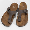 Skórzane japonki męskie bata, brązowy, 866-4848 - 16