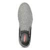 Szare slip-on męskie bata-red-label, szary, 839-2602 - 17