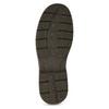 Brązowe nieformalne półbuty ze skóry bata, brązowy, 826-4918 - 18
