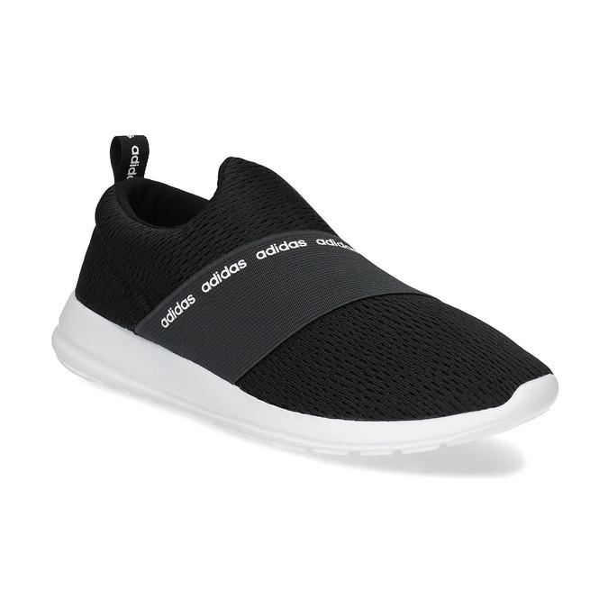Czarne wsuwane trampki adidas, czarny, 509-6565 - 13