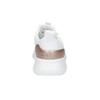 Białe trampki ze złotymi elementami adidas, biały, 509-1579 - 15