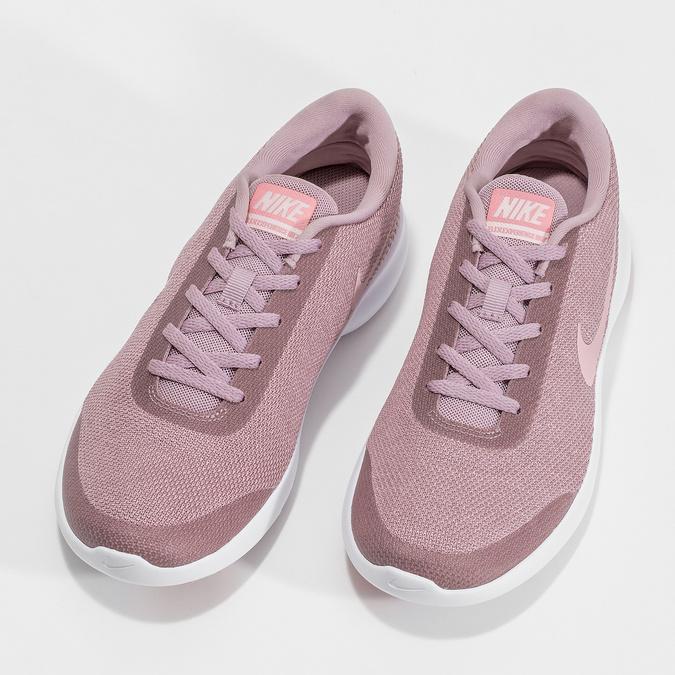 Różowe trampki damskie wsportowym stylu nike, różowy, 509-5850 - 16