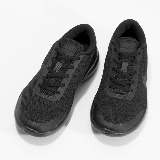 Czarne trampki damskie wsportowym stylu nike, czarny, 509-6850 - 16