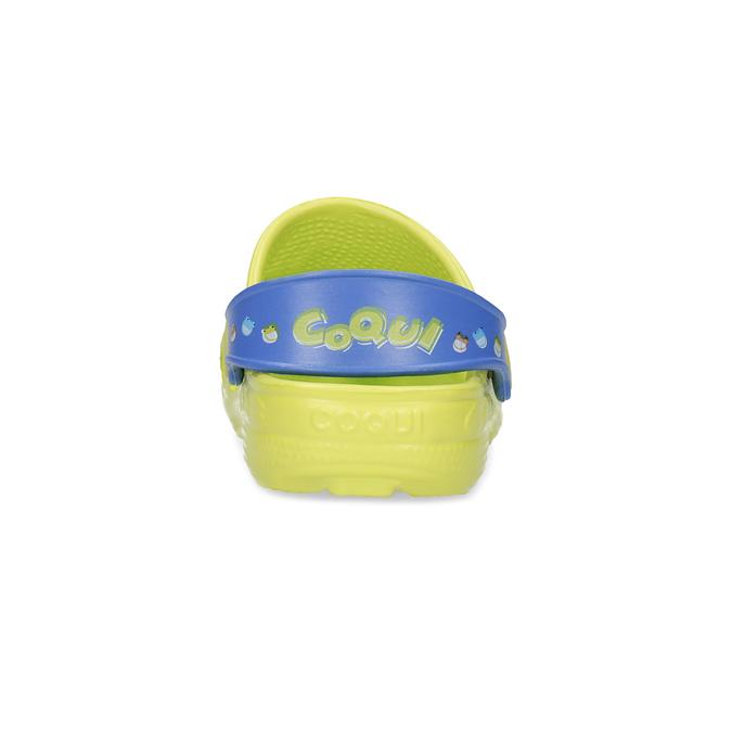 Sandały dziecięce zżabkami coqui, żółty, 272-7650 - 15