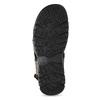 Brązowe skórzane sandały męskie na rzepy weinbrenner, brązowy, 866-4635 - 18