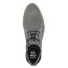 Szare zamszowe buty wstylu chukka bugatti, szary, 823-2015 - 17