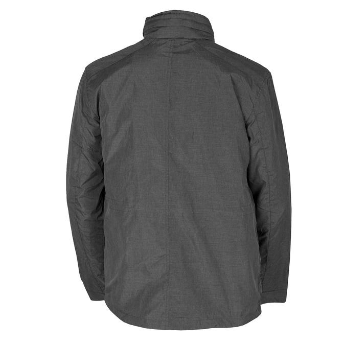 Szara kurtka męska zmateriału tekstylnego bata, szary, 979-2137 - 26