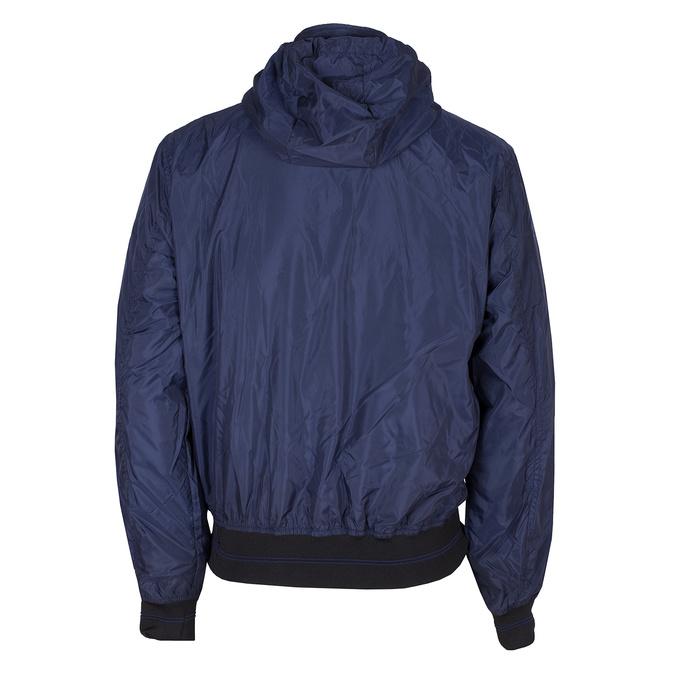 Granatowa kurtka męska zkapturem bata, niebieski, 979-9220 - 26