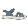 Niebieskie skórzane sandały wstylu outdoor weinbrenner, niebieski, 566-9634 - 19