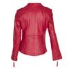 Czerwona skórzana kurtka bata, czerwony, 974-5180 - 26