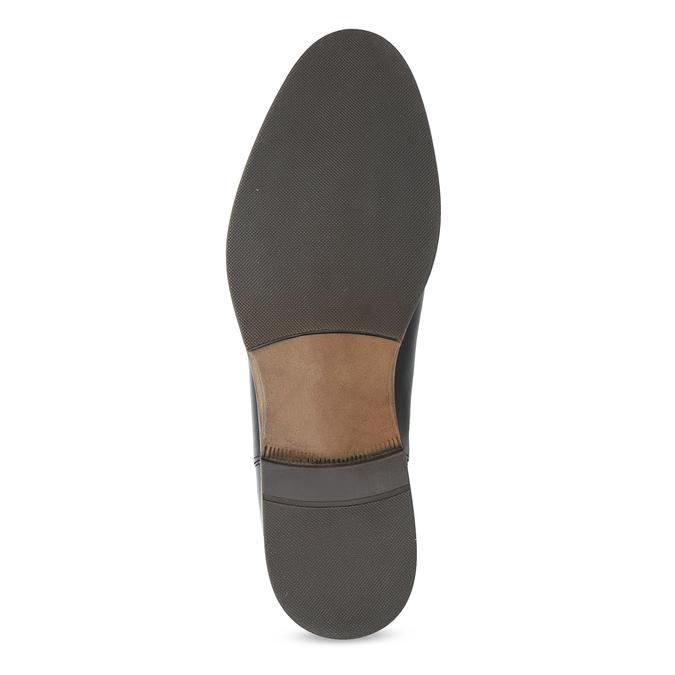Skórzane botki damskie typu chelsea bata, czarny, 594-9636 - 18