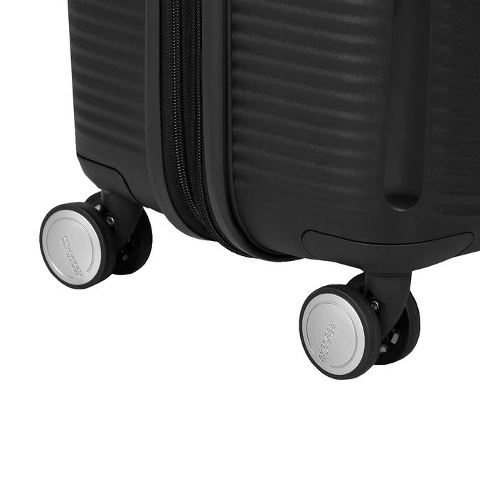 Twarda czarna walizka na kółkach american-tourister, czarny, 960-6614 - 16