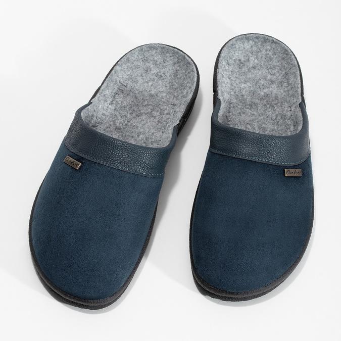Kapcie męskie bata, niebieski, 879-9600 - 16