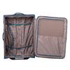 Turkusowa walizka na kółkach, zmateriału tekstylnego roncato, niebieski, 969-9720 - 17