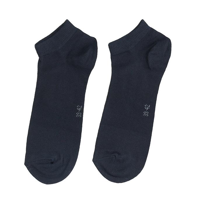 Czarne bawełniane niskie skarpetki męskie bellinda, niebieski, 919-9817 - 26