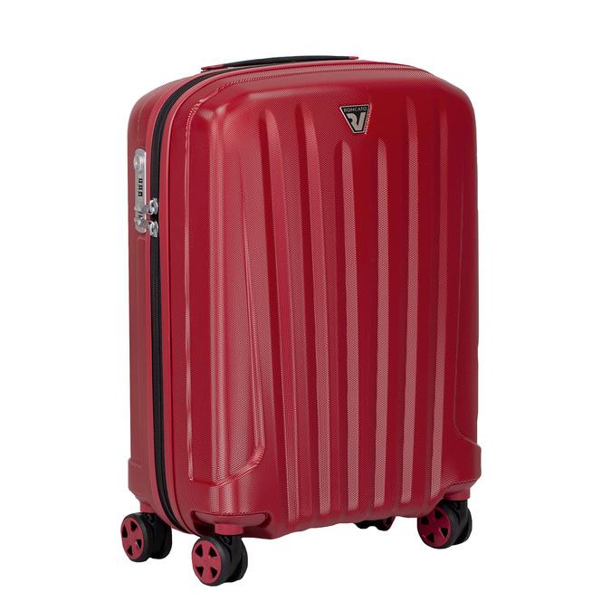Mała czerwona twarda walizka na kółkach roncato, czerwony, 960-5738 - 13