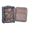 Turkusowa walizka pokładowa roncato, niebieski, 969-9722 - 17
