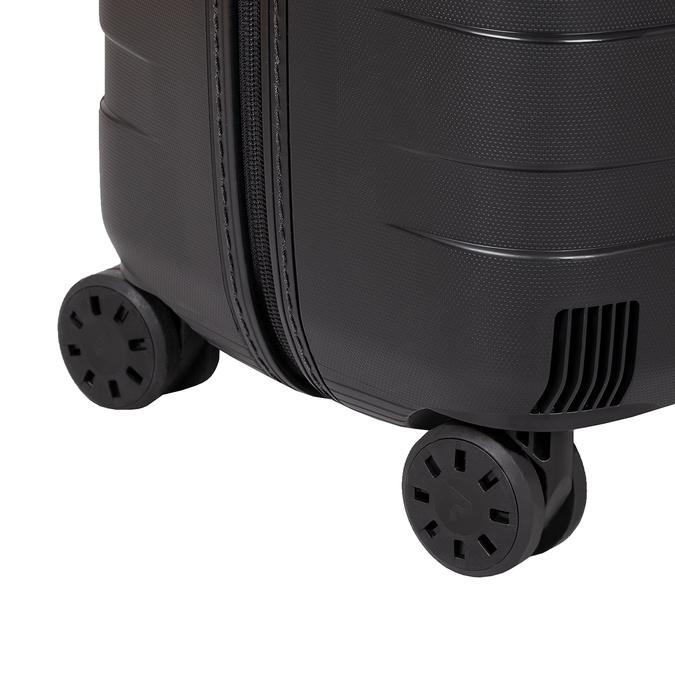 Duża twarda walizka wkolorze czarnym roncato, czarny, 960-9726 - 16