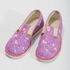Różowe wzorzyste kapcie dziecięce bata, różowy, 279-5129 - 16
