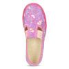 Różowe wzorzyste kapcie dziecięce bata, różowy, 279-5129 - 17