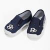 Granatowe obuwie dziecięce typu slip-on mini-b, niebieski, 379-9601 - 16