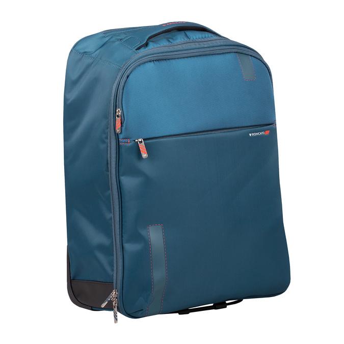 Plecak i walizka w jednym roncato, niebieski, 969-9724 - 13