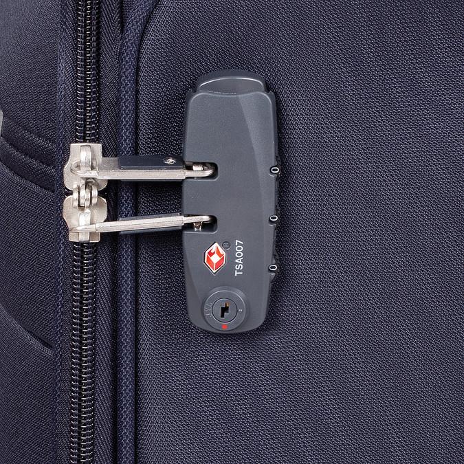 Bagaż podręczny na kółkach samsonite, niebieski, 969-9618 - 15