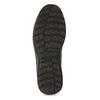 Skórzane obuwie męskie za kostkę, zprzeszyciami bata, szary, 843-2640 - 18