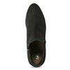 Szare botki damskie zelastycznymi obłożynami bata, szary, 799-2625 - 17