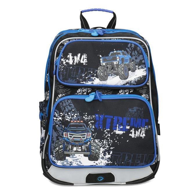 Plecak szkolny Monster Truck bagmaster, niebieski, 969-9713 - 26