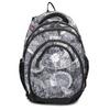 Czarno-biały plecak szkolny bagmaster, szary, 969-2719 - 26