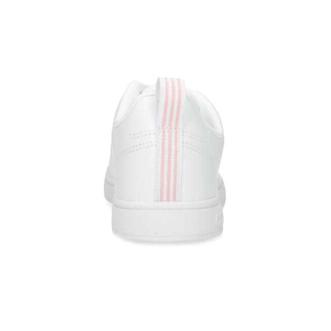 Białe trampki damskie zperforacją adidas, biały, 501-1800 - 15