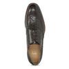 Brązowe skórzane półbuty typu oksfordy bata, brązowy, 826-4785 - 17