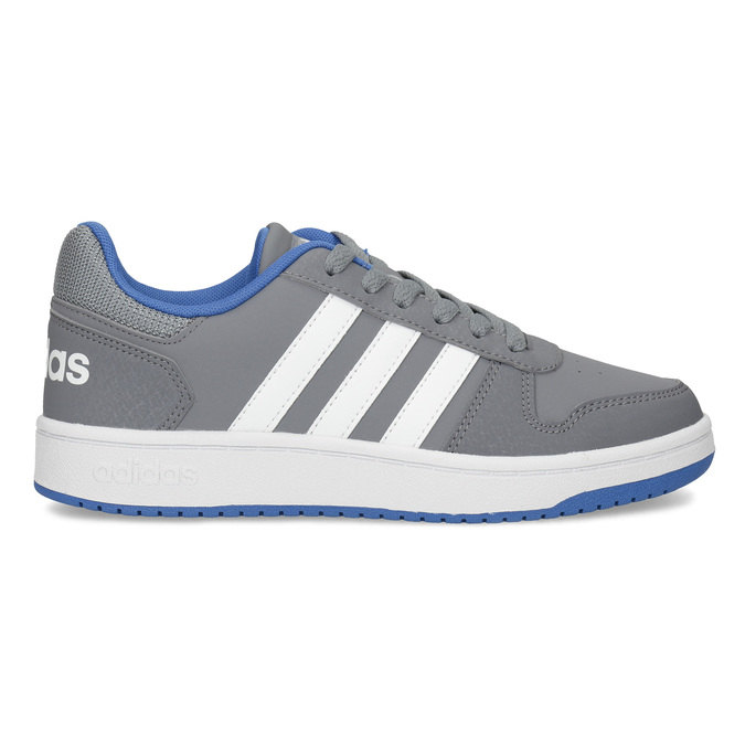 Szare nieformalne trampki dziecięce adidas, szary, 401-2337 - 19