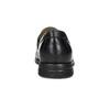 Czarne skórzane mokasyny wstylu penny loafers comfit, czarny, 814-6627 - 15