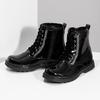 Zimowe błyszczące botki dziewczęce mini-b, czarny, 391-6170 - 16
