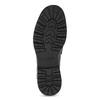 Czarne skórzane mokasyny zchwostami vagabond, czarny, 614-6056 - 18