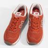 Czerwone sportowe trampki męskie new-balance, pomarańczowy, 803-5174 - 16