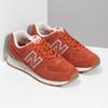 Czerwone sportowe trampki męskie new-balance, pomarańczowy, 803-5174 - 26