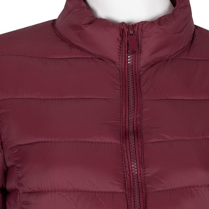Czerwona kurtka damska zprzeszyciami bata, czerwony, 979-5361 - 16