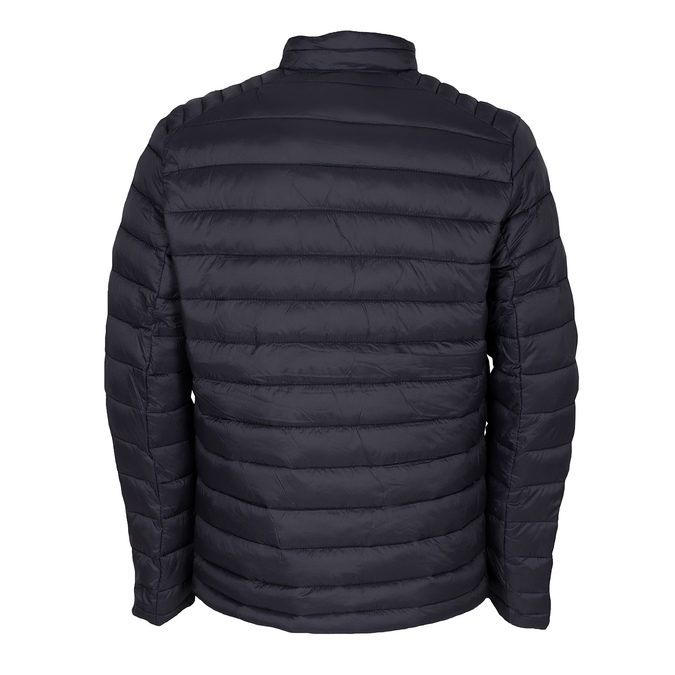 Granatowa pikowana kurtka męska bata, niebieski, 979-9369 - 26