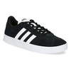 Czarne skórzane trampki dziecięce adidas, czarny, 403-6361 - 13