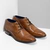 Brązowe skórzane półbuty męskie bugatti, brązowy, 826-3078 - 26