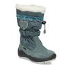 Śniegowce dziewczęce zkryształkami mini-b, niebieski, 399-7658 - 13