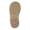 Skórzane zimowe obuwie dziecięce zprzeszyciami mini-b, khaki, 296-3600 - 18